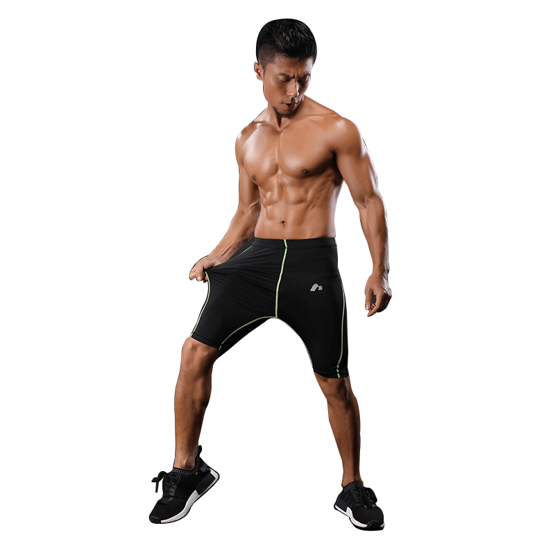 X_Fit_Compression_shorts_green_1