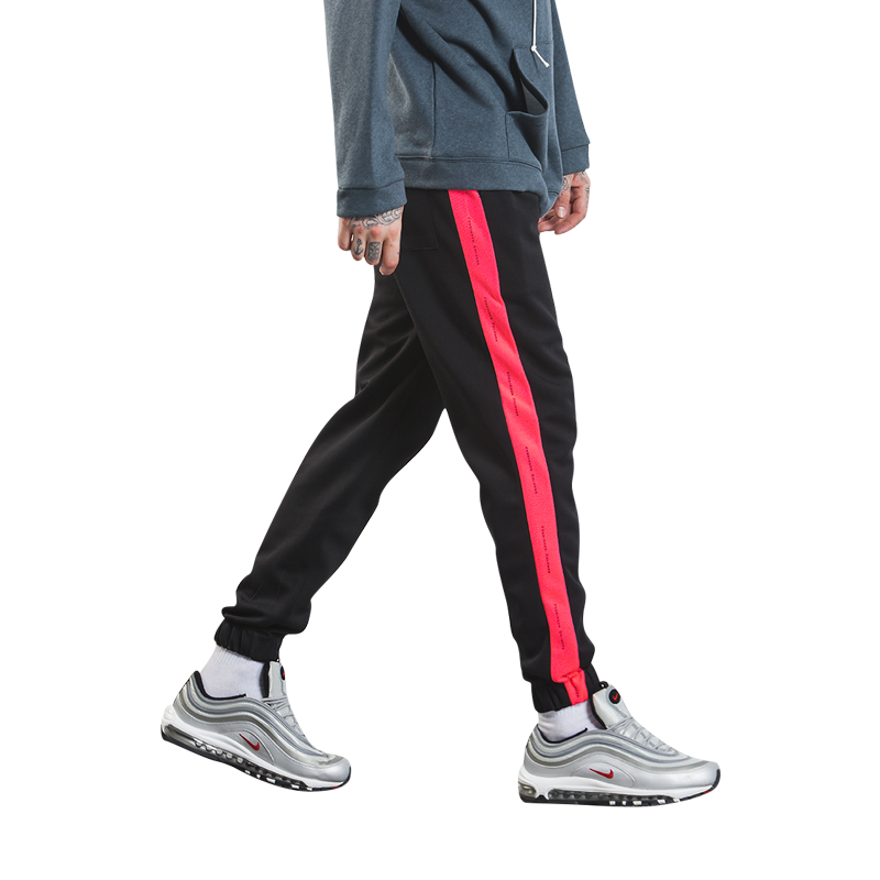 Forbidden Colour Joggers - Red 3