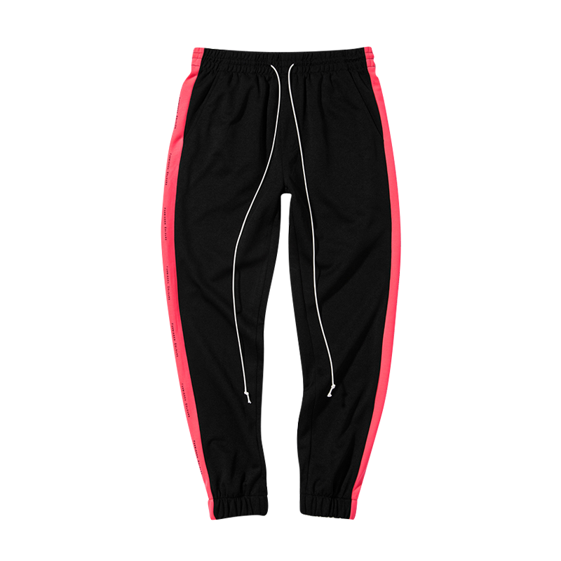 Forbidden Colour Joggers - Red 6