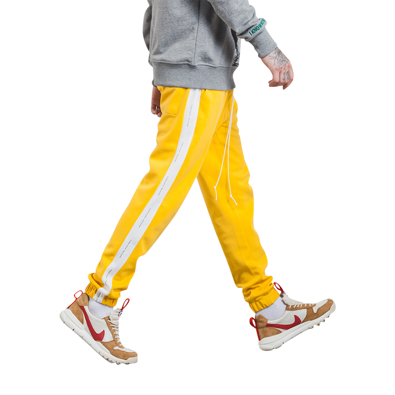 Forbidden Colour Joggers - Yellow 3